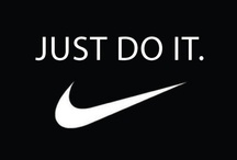 Just Do It / motivational quotes / by Lydia Renn