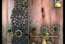 beautiful doors / custom doors - unique doors - antique doors - unusual doors  - to view beautiful handcrafted door hardware visit > www.balticacustomhardware.com