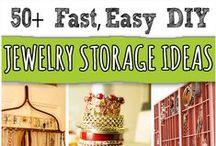 Jewelry-Display/Storage / by Amy Rasmuson