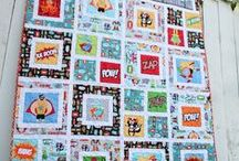 ReCreate: Quilting / I Love Quilts! The colors and fabric and the way they are pieced together inspire me.