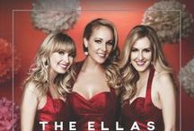 "The Ellas / ""They're as sweet as a whipped cream topping on a gingerbread latte."" The Ellas (formerly The North Pole Patrol) are a jazz trio featuring Jennifer Denmark, Emily Shackelton & Melissa Fuller. New album of original, big band Christmas music out now! Get Merry & Bright by The Ellas - https://itun.es/us/62WH- / by Melissa Fuller"