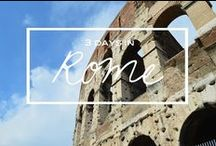 Travel. Italy / Itineraries, what to eat, what to do Venice, Rome, Florence, Milan