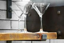 Bar Area Ideas / by Heather Brown