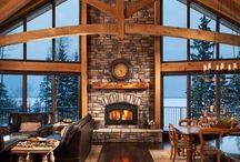log cabins - log homes