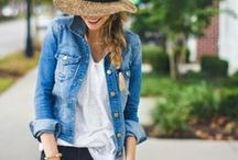Fashion: Spring and summer / Outfits ideas for spring and summer