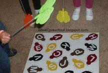 games to play / Games to play in any group setting for ages 2-5. Preschool, daycare, or at homeschool