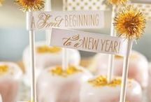 New Year's Eve / Decoration, DIY, NYE Food, Appetizers, and More