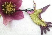 Spiral Fountain Jewellery Birds / Wire bird jewellery