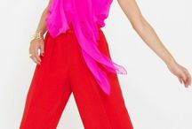 Fashion / Chic modern sophisticated fashion with a flash of fun and bright colors  / by Adrienne Ryan