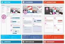Social Media Cheat Sheets / by Erwin Meester