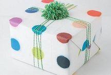 creatief inpakken /uitnodigen/verrassen / by Inge Laermans