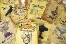 Folksy Perfect Potion / A selection of potion themed items from Folksy
