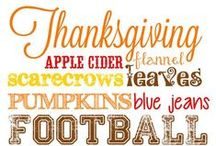 Thanksgiving / Thanksgiving recipes, DIY projects, and printables.