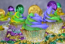 Mardi Gras / Bourbon chicken, king cake, and so much more can be found in this Mardi Gras board.