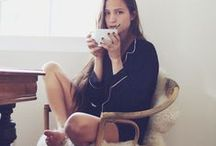 EKO : Loungewear Inspiration / #organic #loungewear in soft jersey. #inspiration of a laid back lifestyle