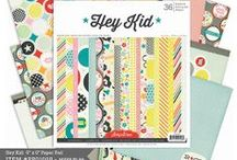 Hey Kid Collection / Paper Crafting Collection from Pink Paislee / by Pink Paislee