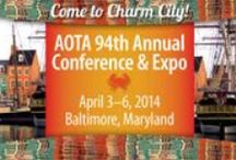 AOTA 2014 Annual Conference & Expo Places of Interest / Hotels and other Baltimore, MD attractions to help you plan your trip to AOTA's Annual Conference & Expo, Baltimore Convention Center, Baltimore, MD, April 3–6, 2014. For details and to register visit http://www.aota.org/conference / by AOTA Inc