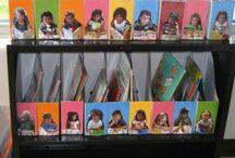 Portfolios / Ideas for preschool portfolios.