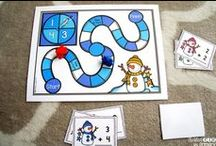 Winter / Activities, crafts, snacks, and ideas for Christmas, Winter, and Valentine's Day
