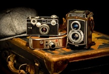 Classic Cameras, including some I have owned. / I have always loved cameras. / by Richard Moser