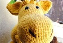 Crochet Animals / Patterns and ideas for crocheted animals.  - candleinthenight.com