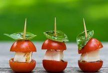 food-appetizers or snacks / by Jenna Kern