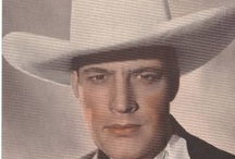 Western Movie Stars / Remember the old western movies from my younger days. / by Richard Moser