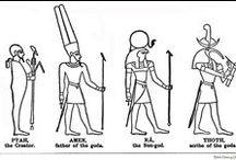 Ancient Egyptian (3200/2300 BC) / Memphis, Sakkara, Hermopolis, Heliopolis, Karnak, Ramesses II, Temple of Luxor, Amum, Velley of Kings, Gizah, Sphinks, 3 Dinasty, 12 Dinasty. / by onepac7