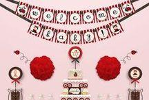 Ladybug Baby Shower / A ladybug themed baby shower??  TOO Cute!! - candleinthenight.com