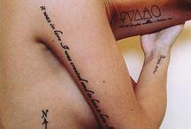 Tattoos / by Sammi Heitert