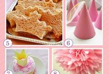 Birthday Party: Princess / Fun ideas for a princess themed birthday party!  We did this for H's 4th birthday and had a blast!! - candleinthenight.com