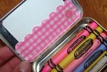 Altoids / Cute little Altoid tins make great craft projects!  Find lots of ideas on this board!  - candleinthenight.com