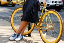 Cycle style / Bikes are beautiful. Be beautiful while biking.