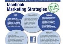 Marketing for Facebook / Fun and useful infographics about marketing on Facebook.