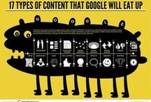 Content Marketing / Fun and useful infographics about the do's and dont's of content marketing.