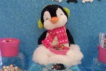 Birthday Party: Penguin / Fun ideas for a Penguin themed birthday party! - candleinthenight.com