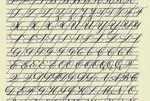 Kaligrafia / sztuka ładnego pisania