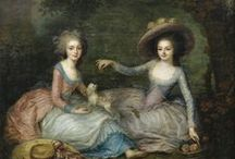 Marie Antoinette / Couldn't help myself - just read Antonia Fraser's bio on her and am a fan forever now.