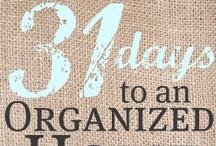 Organization Ideas / by Holly Davis