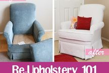 Upholstery How-to / by Holly Davis