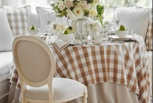 Tablescape / by Denise Evans