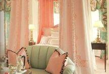 bedrooms / by Keve Butterfield