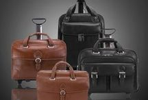 Vernazza / Our Vernazza collection of fine, soft grain leather bags, laptop cases, check-point friendly briefcases and removable wheeled cases.