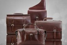 Manarola / Beautiful fine leather laptop cases and duffle