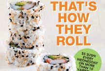 Sushi / by Lunds and Byerly's