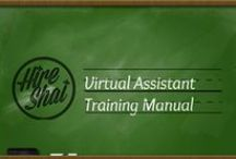 Hire Shai's Virtual Assistant Training Manual / Microsoft Office tips, tricks and shortcuts every virtual assistant and aspiring virtual assistant, administrative consultant or WAH person needs to know.  / by Shai Unfiltered