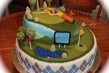 golf cakes / by Becky Brandt