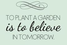 Our favourite garden quotes / Enjoy a whimsical assortment of our favourite garden-inspired quotes.