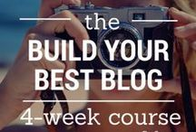 Blogging / Blogging tips and advice, how to start a blog, build your best blog, blogging, how to blog