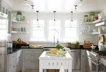 kitchen / ideas for renovating and decorating the kitchen